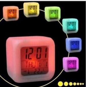 color change digital alarm clock